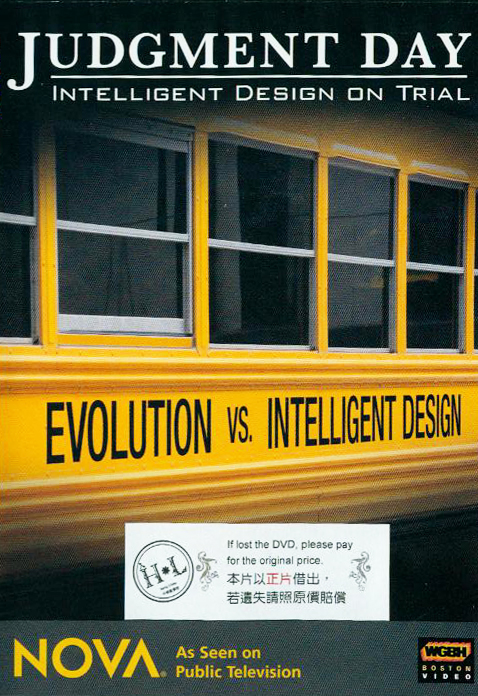 Judgment day : intelligent design on trial