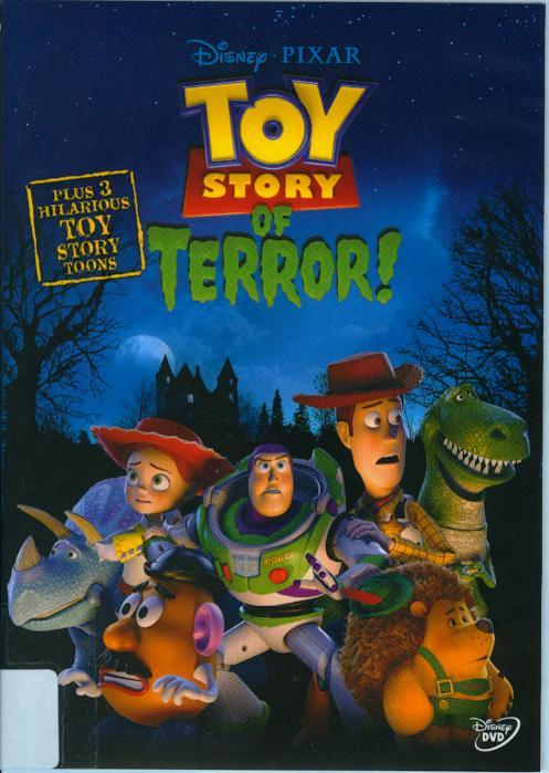 玩具總動員之驚魂夜[普遍級:動畫] : Toy story of terror