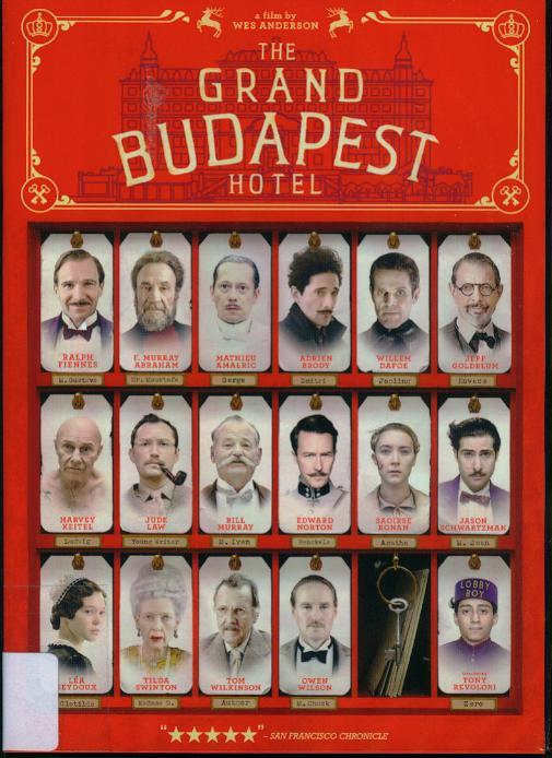 歡迎來到布達佩斯大飯店[輔導級:劇情] : The Grand Budapest Hotel