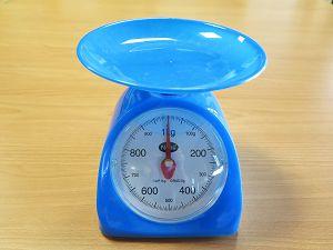 一公斤秤:塑膠磅(2016) : Scales : 1 kg