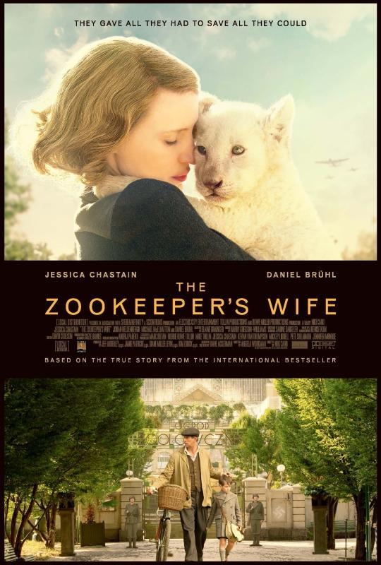 園長夫人動物園的奇蹟[輔導級:文學改編] : The Zookeeper
