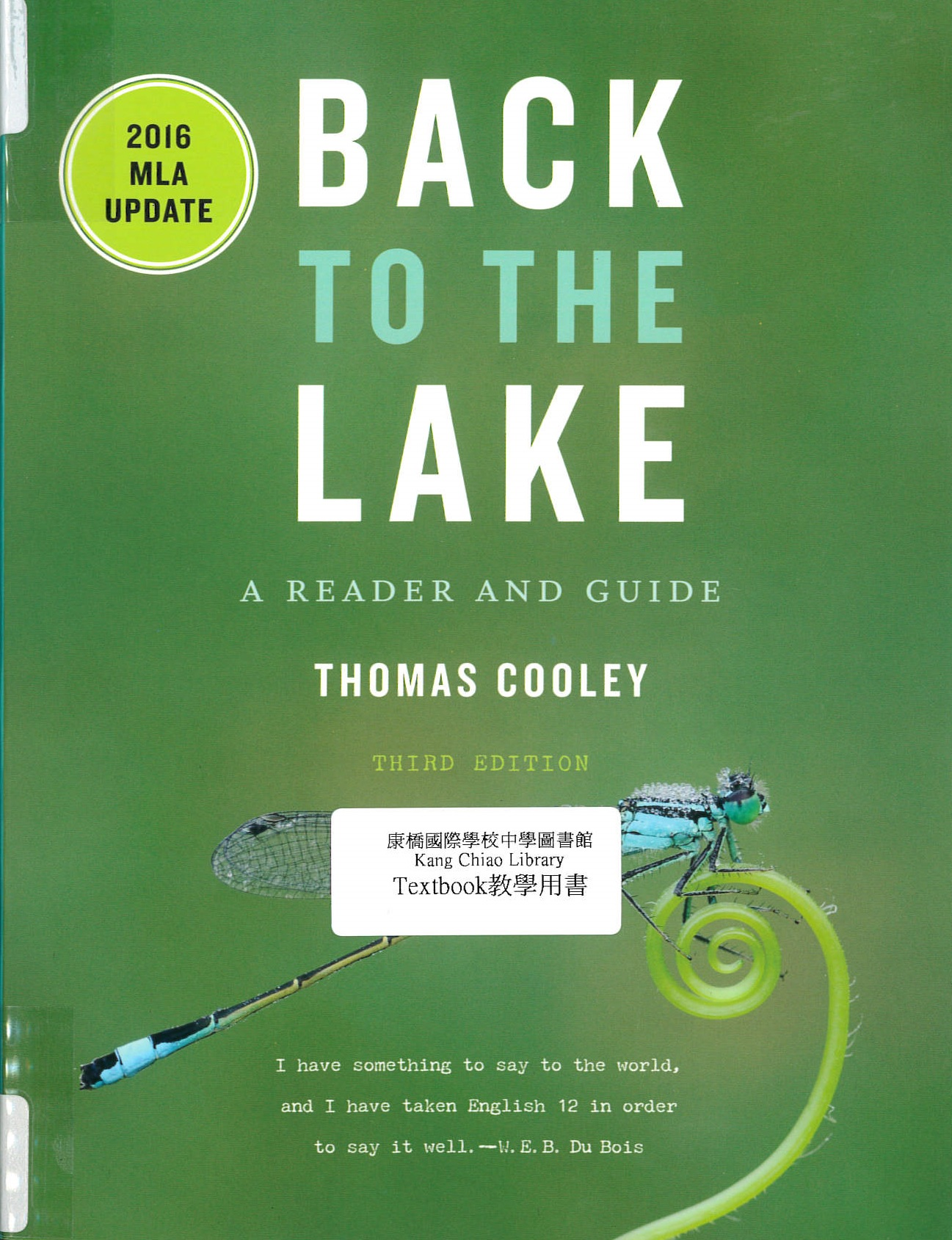 Back to the lake [For IB] : a reader and guide