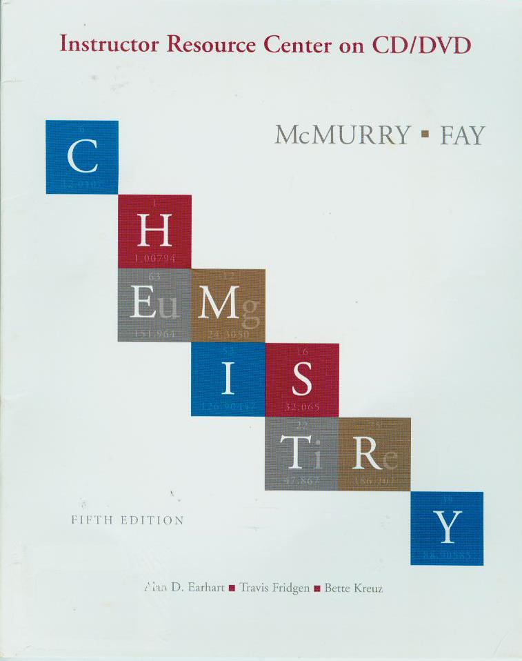 Chemistry  : instructor resource center on CD/DVD