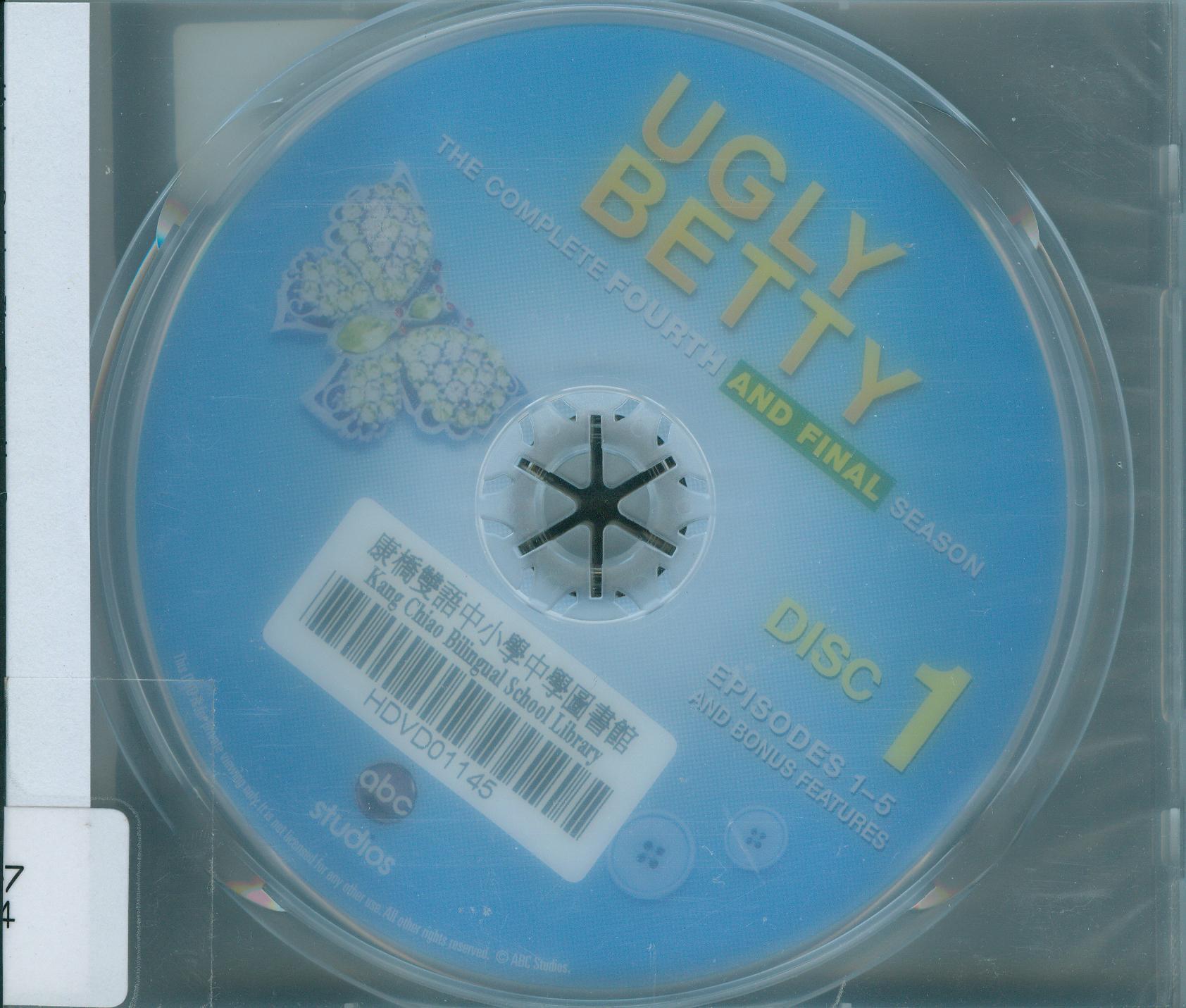 醜女貝蒂[第4季] : Ugly Betty[season 4] : 完結篇