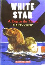 White star   :  A dog on the Titanic
