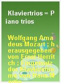 Klaviertrios = Piano trios