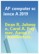 AP computer science A 2019